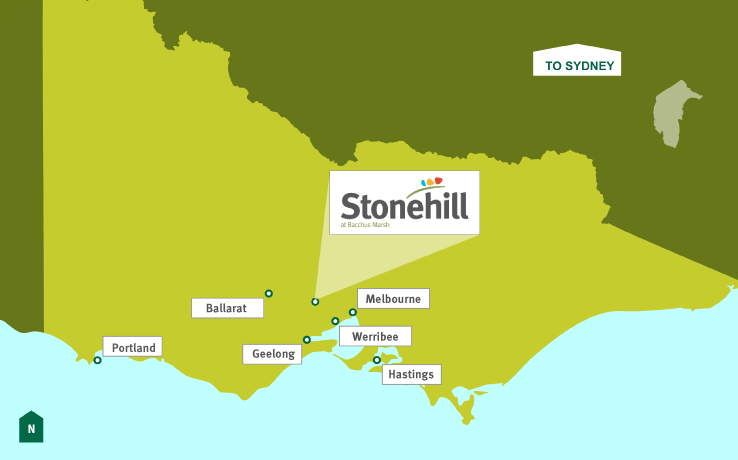 stonehill location map